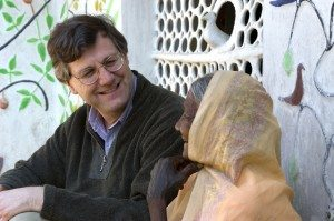 Stephen P. Huyler, author of 'Daughers of India' with Sonabai