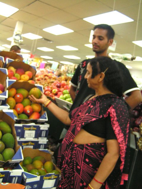 Mangoes are the national fruit of India and equally popular with Indian immigrants.