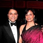 Dinesh Paliwal Chairman CEO Harman International and Ila Paliwal