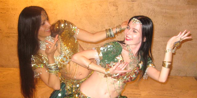 Outsourcing Bollywood dance