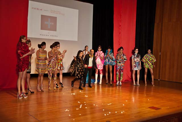 Mira Nair, Manish Arora and models