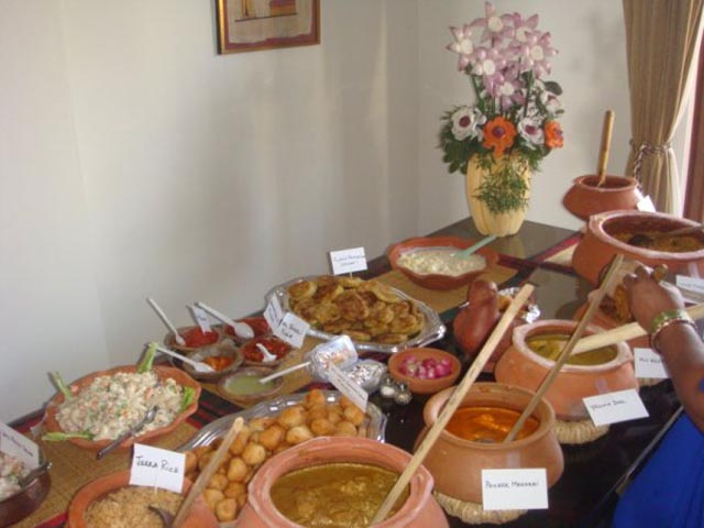 Indian Christmas feast