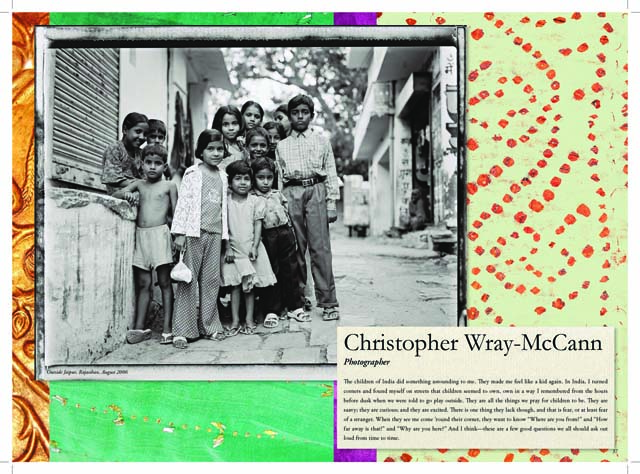 India  - Christopher Wray-McCann