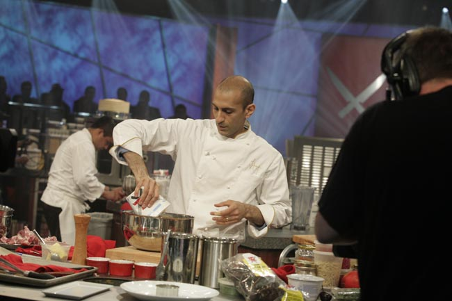 Jehangir Mehta on The Next Iron Chef