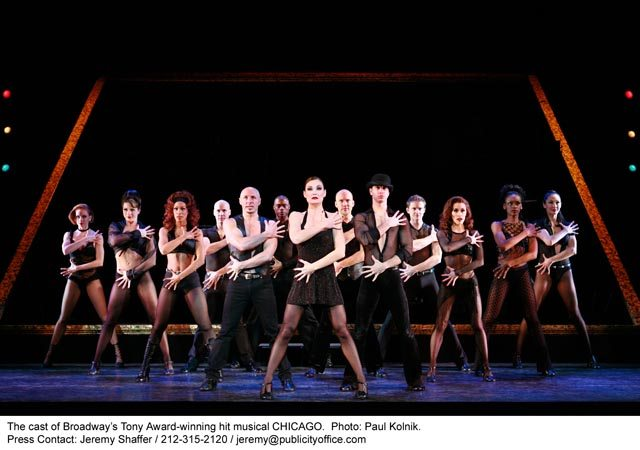 Chicago plays on Broadway   Credit Photo: ©Paul Kolnik