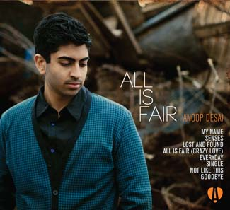 All is Fair, the new album by Anoop Desai