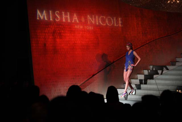 Designer fashions at Global Runway by Misha Nicole