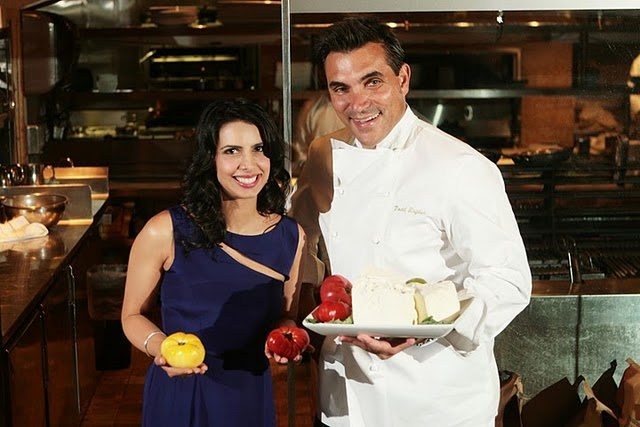 Divya Gugnani with Todd English