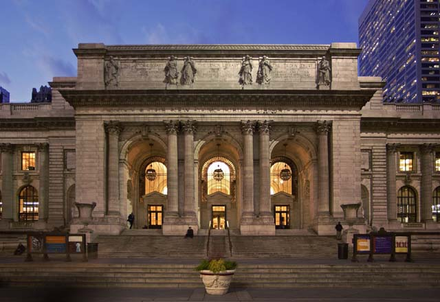The New York Public Library  Photo - Aaron/Esto