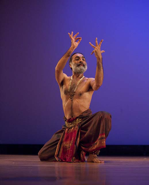 Navtej Johar at Erasing Borders: Festival of Indian Dance