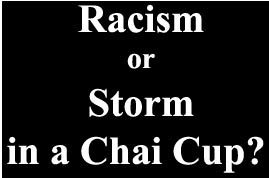 Racism or Storm