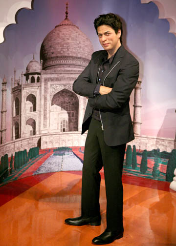 Bollywood superstar Shah Rukh Khan at Madame Tussauds
