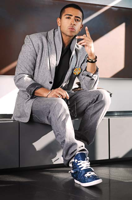 Jay Sean, British Asian rapper and pop singer, whose latest single is 2012. Jay Sean's upcoming album is Freeze Time.