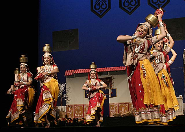 Garba is performed during the Navratri Festival