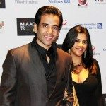 Tusshar and Ekta Kapoor at the premiere of 'Shorr' at MIAAC