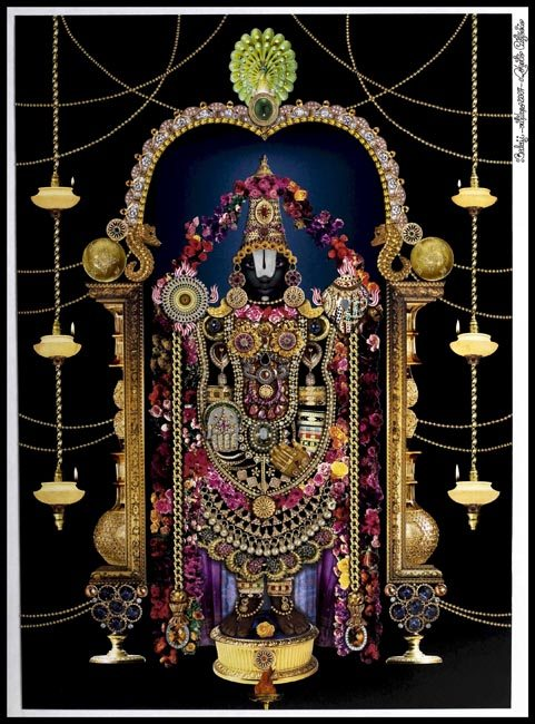 Balaji, a tribute to Hindu Gods by Roberto Custodio whose work can be seen at RL Fine Arts in 'A Matter of Faith'
