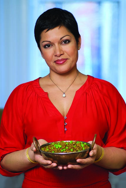 The Indian Slow Cooker by Anupy Singla is about cooking Indian food while saving time and retaining nutrients.