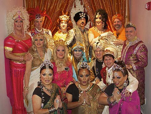 The Imperial Court of New York at Red Ribbon's fundraising Bollywood Gala