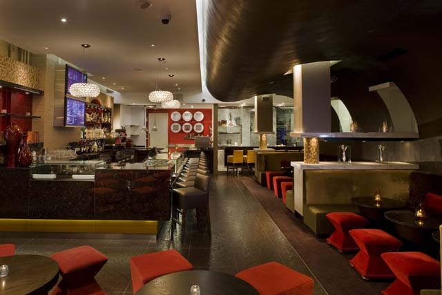 Co co Sala - the lounge of this chocolate restaurant and bar