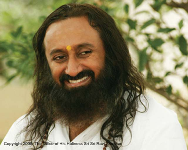 Spiritual leader Sri Sri Ravi Shankar of Art of Living will lead I-Meditate NY at Lincoln Center