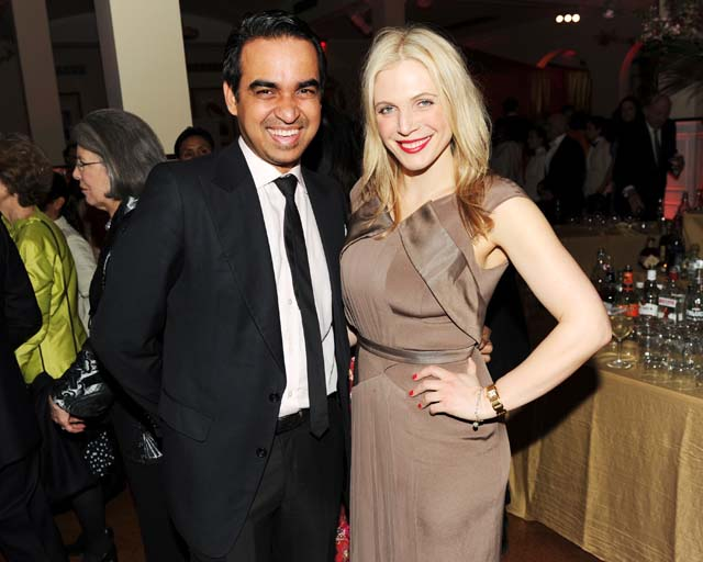At Asia Society's Spring Gala benefit, Bibhu Mohapatra and Annabel Tollman