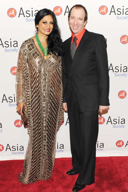 At Asia Society's Spring Gala, Donna Cruz and Tommy Silverman