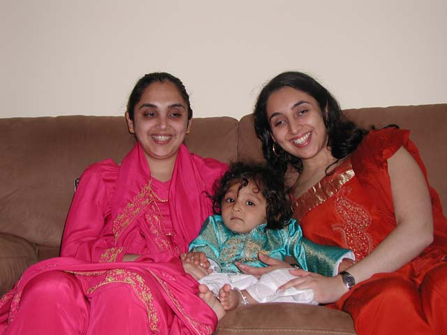 Jasmin Sethi & Sheena Iyengar with Ishaan