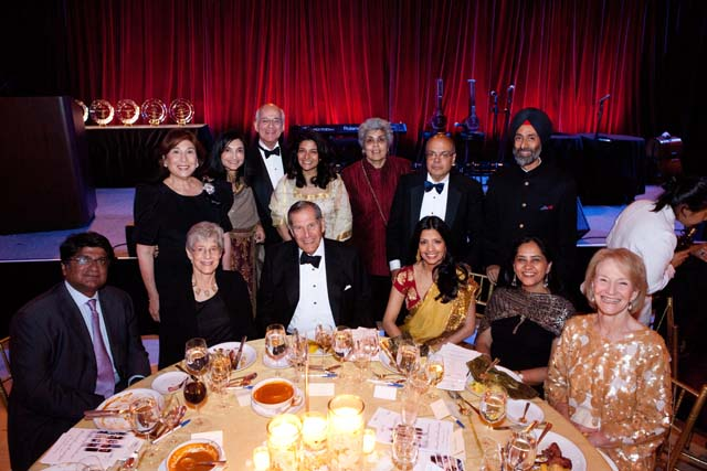 AIF Spring Gala - Ajit and Tinku Jain with guests