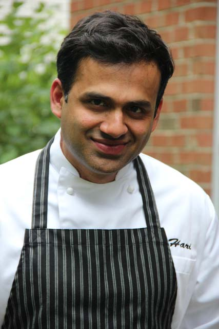 Hari Nayak, celebrity Indian chef is the author of 'My Indian Kitchen- preparing delicous Indian meals without fear or fuss'