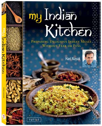 My Indian Kitchen by Hari Nayak is about Indian home cooking