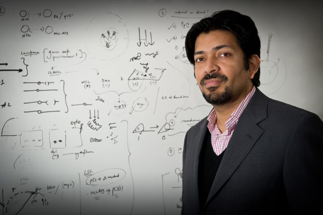 Siddhartha Mukherjee, author of 'Emperor of All Maladies', a biography of cancer, which won the Pulitzer Prize