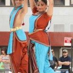 Indian classical dance organized by IAAC at the Downtown Dance Festival featured several Indian classical dancers