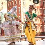 Indian classical dance organized by IAAC at the Downtown Dance Festival featured several Indian classical dancers.