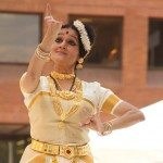 Indian classical dance organized by IAAC at the Downtown Dance Festival showcased Mohini Attam by Mandakini Trivedi