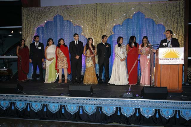 CH2 Members at Children's Hope Royal India Gala