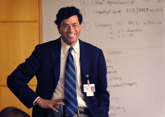Dr. Atul Gawande is the author of 'Better', 'Complications' and 'The Checklist Manifesto'