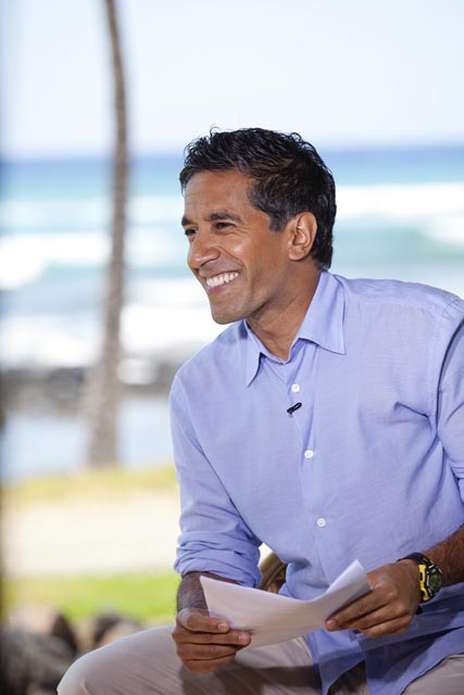 Dr. Sanjay Gupta is an Emmy-award winning medical correspondent on CNN, besides being a neurosurgeon and author of 'Chasing Life' and 'Cheating Death'