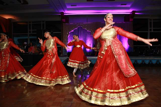 Dancers from Aatma Performing Arts at the Royal India Gala by Children's Hope India