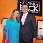Meera and Vikram Gandhi at the Giving Back launch