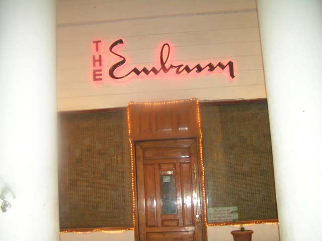 Eating out in Delhi - Embassy Restaurant in Connaught Place is one of the oldest restaurants