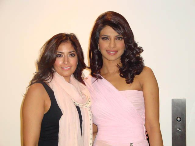 Karuna Chani, makeup artist, recently worked with Bollywood superstar Priyanka Chopra in New York
