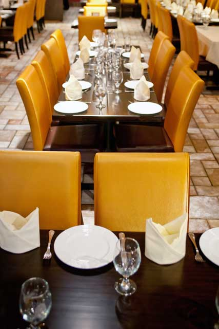 Benares Restaurant is a new Indian eatery in Manhattan in the theater district, with Peter Beck as chef.