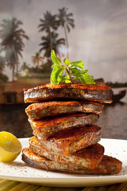 Tawa Fish Fry at Zambar which specializes in South Indian coastal cuisine