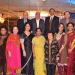At the Indian American Forum's celebration of women, honorees and office bearers.