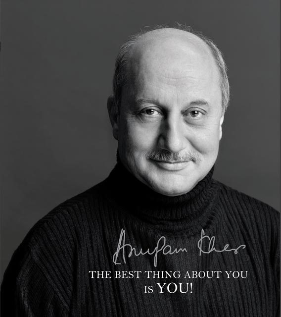 Bollywood actor Anupam Kher has written a book The Best Thing About You is You