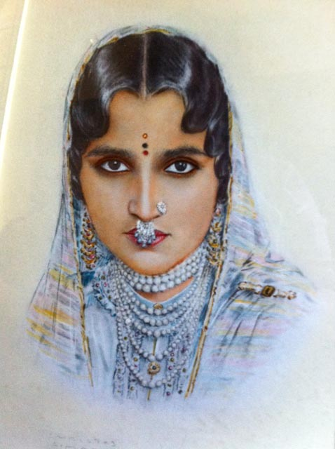 Rani of Patiala, who is the grandmother of Jyotsna Singh, jewelry designer in San Francisco