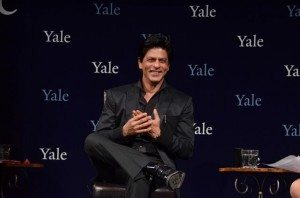Shah Rukh Khan, Bollywood superstar, received the Chubb Fellowship at Yale University