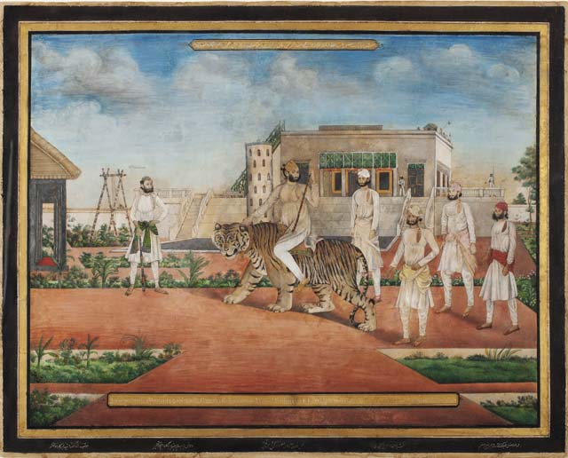 Princes & Painters in Mughal India, an exhibition at Asia Society examined the late Mughal and British period