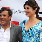 Bedobrata Pain and Pooja Batra at 2012 NYIFF opening of 'Chittagong'