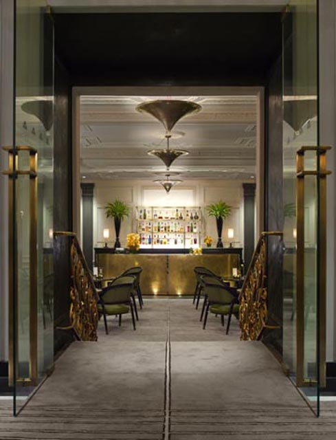 E 2 Bar is a lounge at the Pierre, a Taj Group property